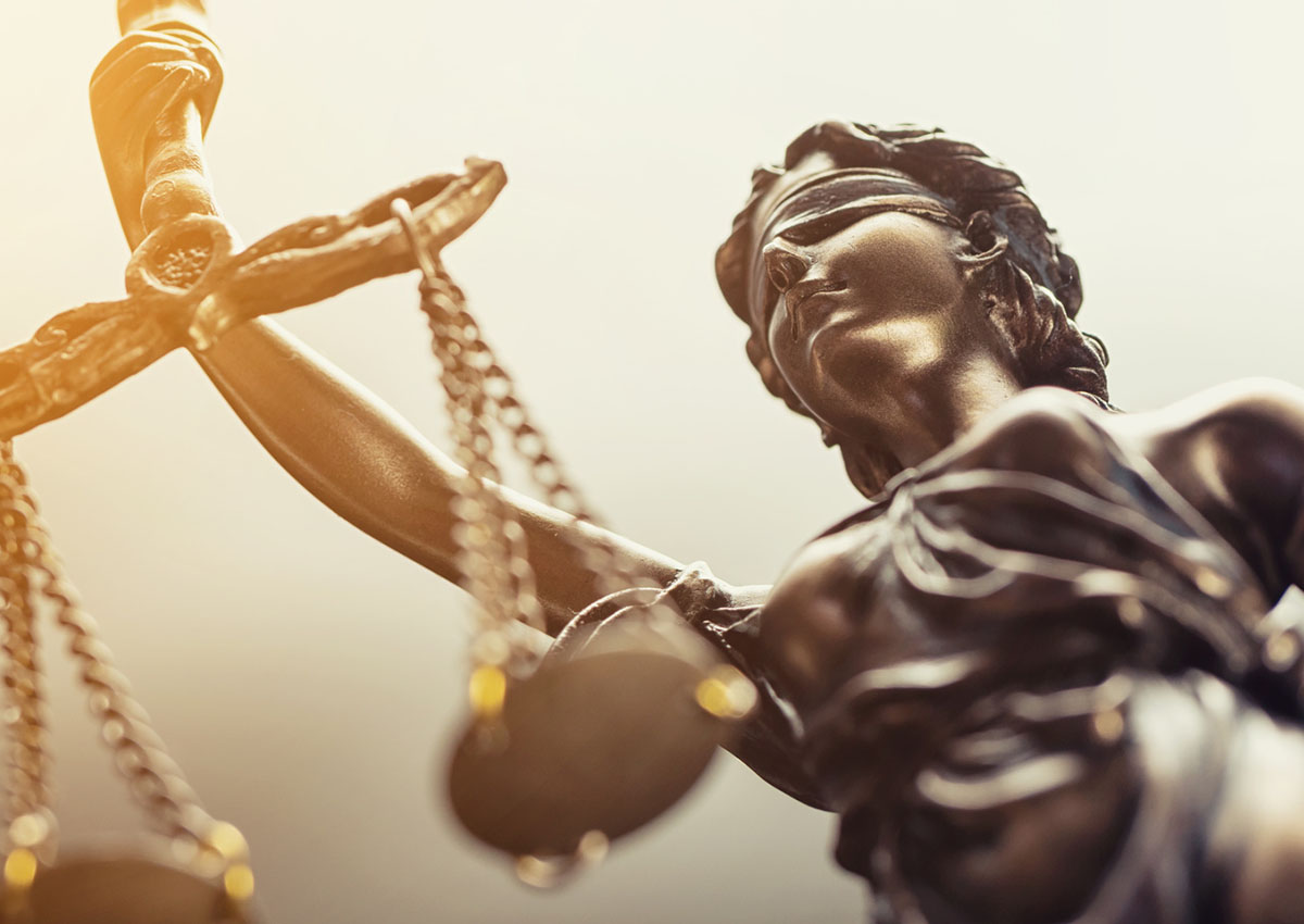 Symbolbild DSGVO: Justizia.